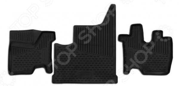 Комплект 3D ковриков в салон автомобиля Element КамАЗ М1842, 2013