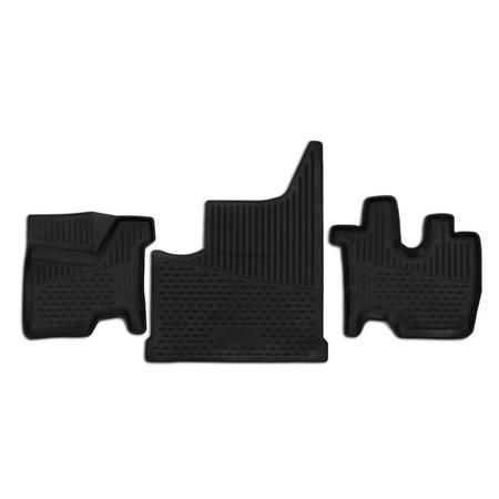 Купить Комплект 3D ковриков в салон автомобиля Element КамАЗ М1842, 2013