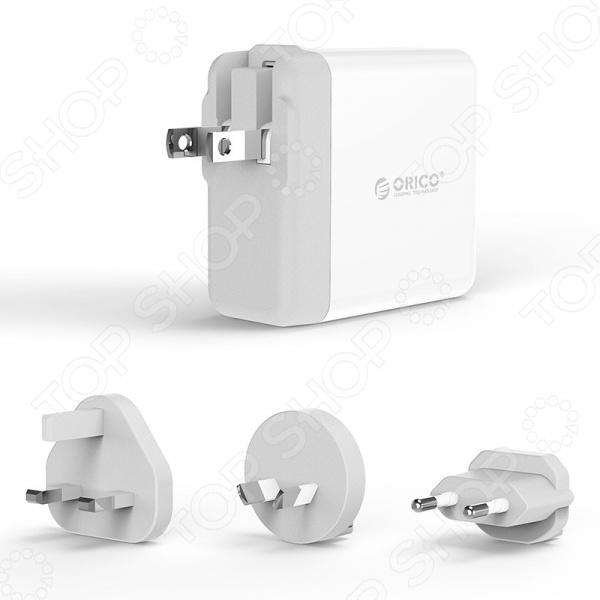 Устройство зарядное для сетевого оборудования Orico DSP-4U кабели orico кабель microusb orico adc 10