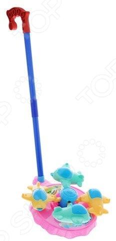 Каталка детская Наша Игрушка «Карусель: самолетики» каталка детская наша игрушка барабан с шариком в ассортименте