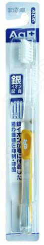 Зубная щетка Ebisu с ионами серебра и плоским срезом ворса
