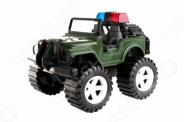 Машинка игрушечная Пластмастер «Джип Альфа» аллокин альфа в киеве