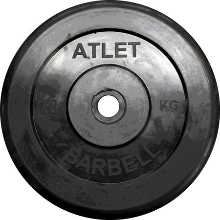 Купить Диск обрезиненный ATLET MB