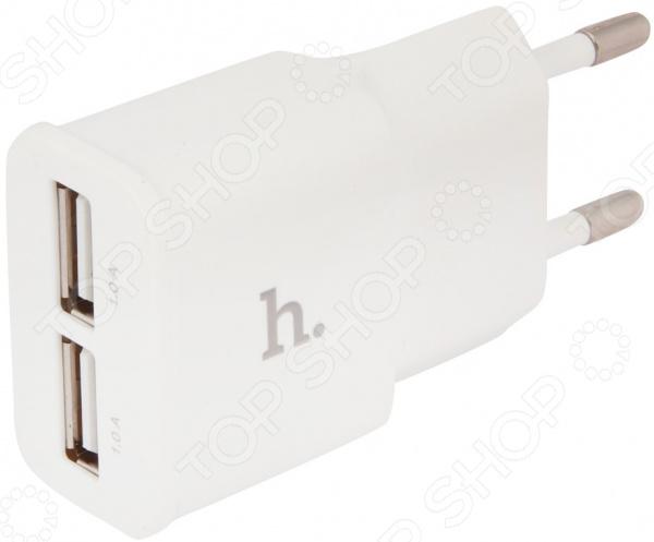 Устройство зарядное сетевое Hoco UH202 Smart сетевое зарядное устройство hoco uh202 smart charger 2usb 2 4a 0l 00038986 white