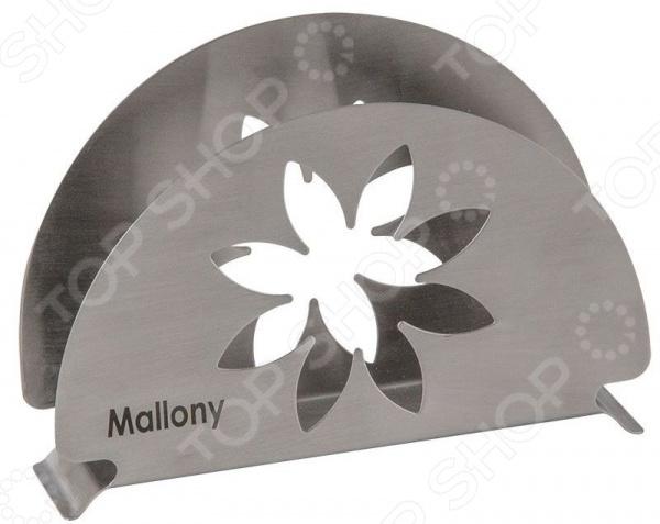 Салфетница Mallony Fiore бокс для салфеток салфетница blonder home birch bark by woolrich xbirch005r
