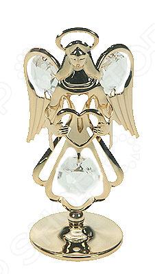 где купить  Фигурка декоративная Crystocraft «Ангел» с кристаллами Swarovski 67108  по лучшей цене