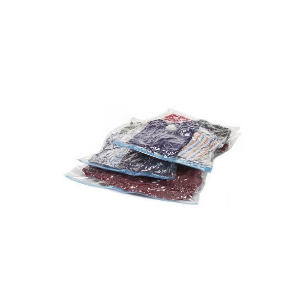 фото Набор вакуумных пакетов для хранения вещей с насосом Bradex «Спэйс Мастер»