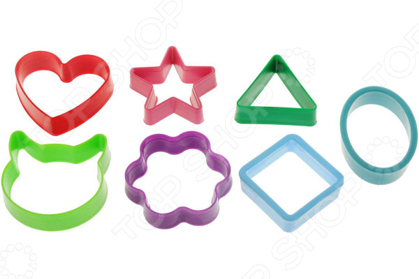 Набор форм для печенья Леденцовая фабрика «Геометрические фигуры». В ассортименте