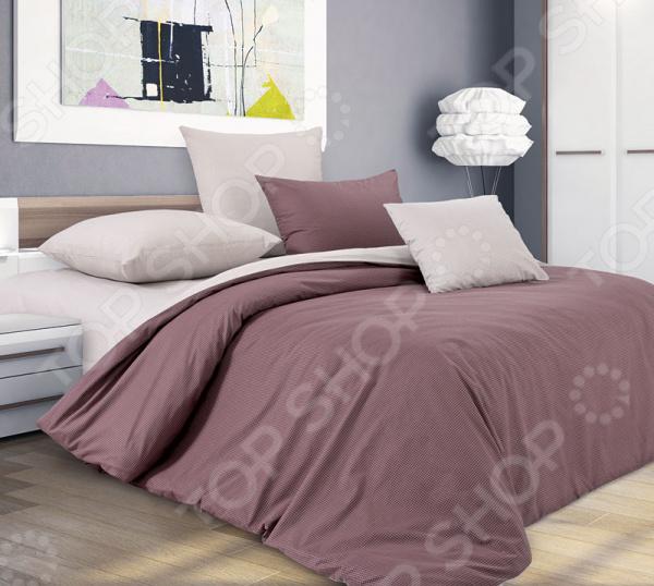 цена Комплект постельного белья Королевское Искушение с компаньоном «Шоколадный крем» онлайн в 2017 году