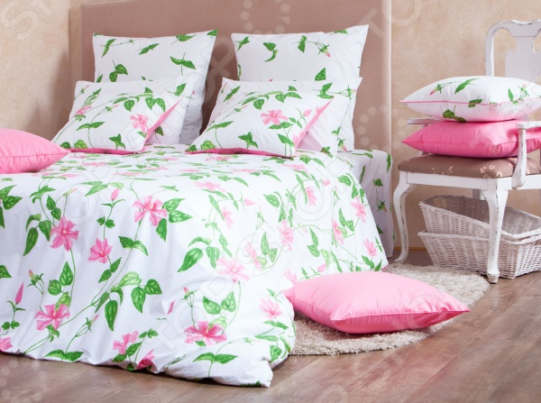 Комплект постельного белья MIRAROSSI Veronica pink комплект белья pink lipstick