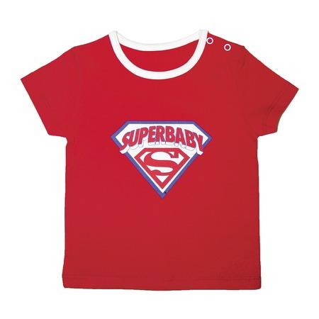 Купить Футболка для малыша SuperBaby. Цвет фона: белый