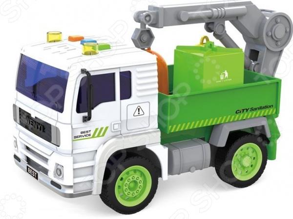 Машинка игрушечная Taiko «Грузовик с краном»