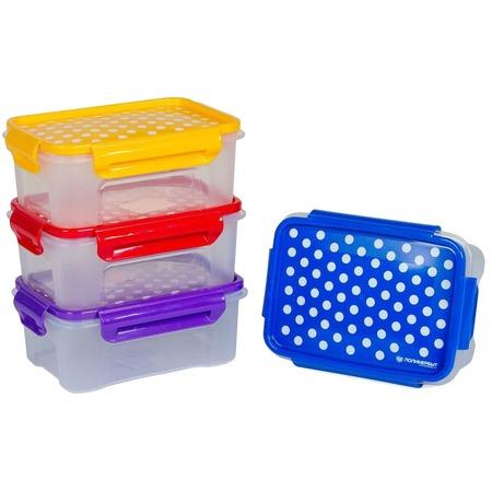 Купить Набор контейнеров для СВЧ Полимербыт SGHPBKP109 «Горох»