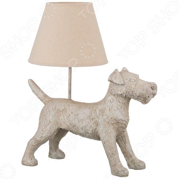 Светильник настольный с абажуром Lefard «Собака» 599-167