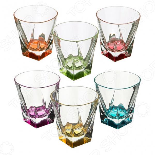 Набор стаканов для виски RCR «Колорс» 305-103 набор стаканов rcr имперо 305 112