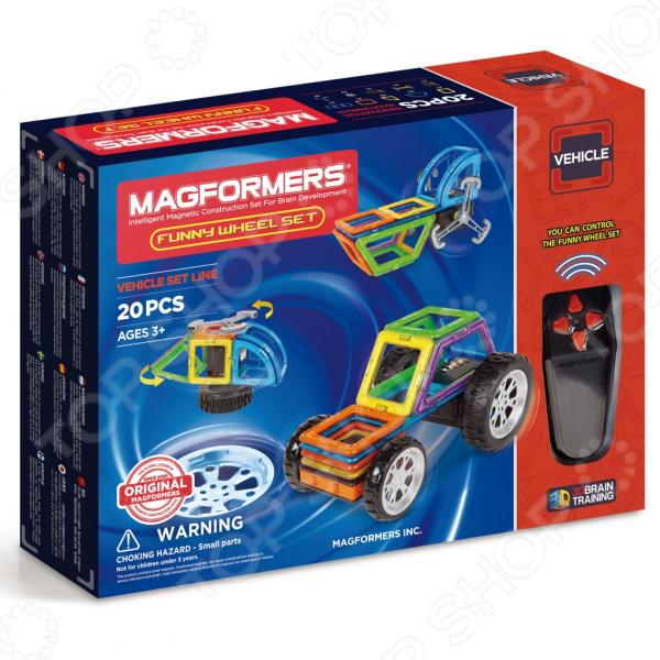 Конструктор магнитный Magformers Funny Wheel Set 20 magformers magformers магнитный конструктор funny wheel set 20