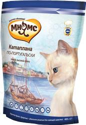 Корм сухой для кошек Мнямс «Катаплана по-португальски» с форелью