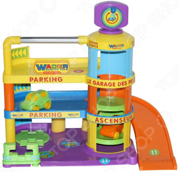 Набор игровой для мальчика Wader «Гараж Беби с автомобилями»