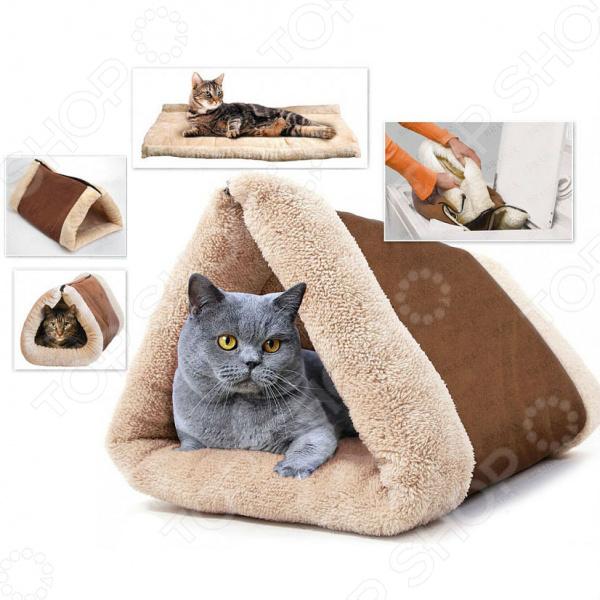 Домик-одеяло для кошек и собак Bradex
