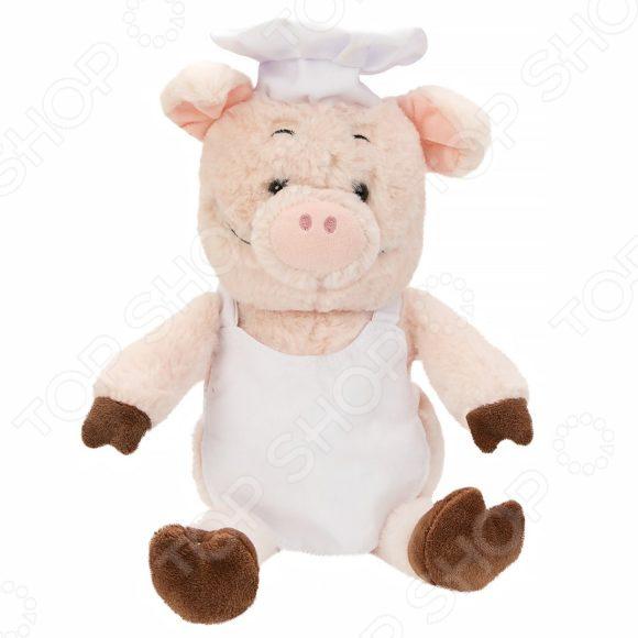 Мягкая игрушка Fluffy Family «Поросенок Поваренок»