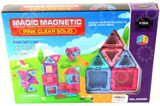 Конструктор магнитный Наша Игрушка JH6869 цена