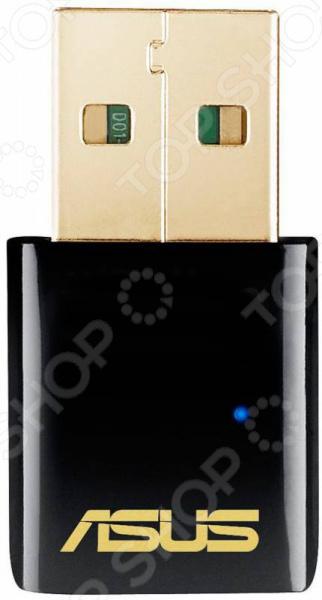 Точка доступа Wi-Fi Asus USB-AC51 140f1142 devireg smart интеллектуальный с wi fi бежевый 16 а