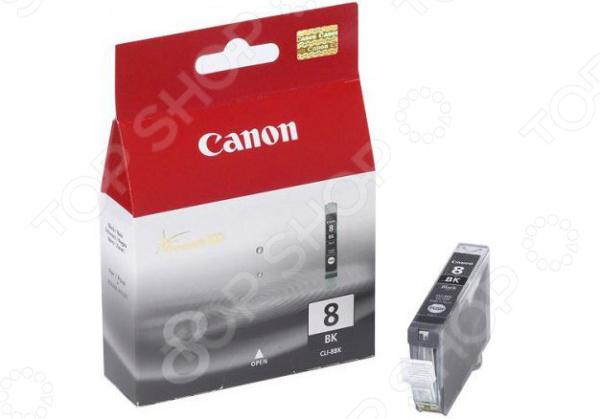 Картридж струйный Canon CLI-8B картридж cli 8m пурпурный pixma mp800 mp500 ip6600d ip5200 ip5200r ip4200
