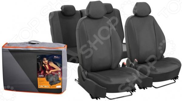 Набор чехлов для сидений Airline Renault Kaptur с 2016, «Лима» Набор чехлов для сидений Airline Renault Kaptur с 2016, «Лима» /
