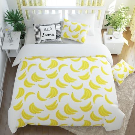 Купить Комплект постельного белья Сирень «Бананас»