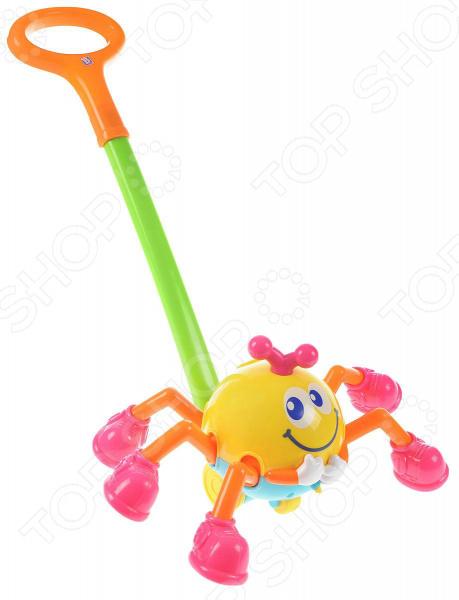 Каталка детская на палочке B kids «Паучок» формочки для леденцов на палочке екатеринбург