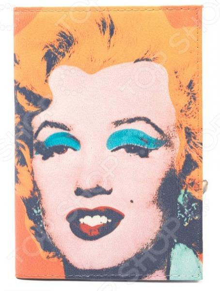 Обложка для автодокументов кожаная Mitya Veselkov «Монро Уорхолл» обложка для автодокументов mitya veselkov улыбка монро