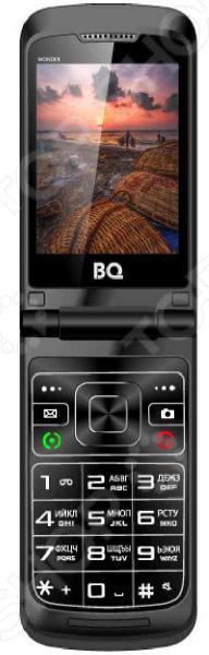 Мобильный телефон-раскладушка BQ 2807 Wonder телефон dect gigaset l410 устройство громкой связи