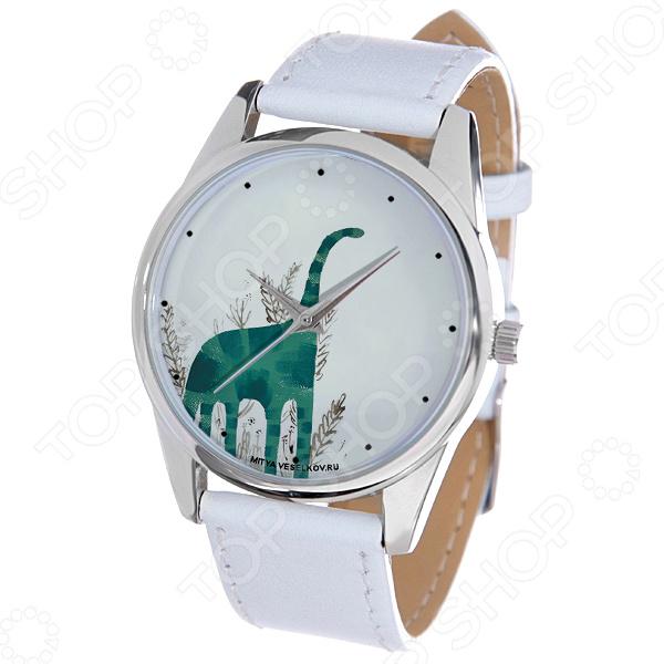 Часы наручные Mitya Veselkov «Зеленый динозавр»