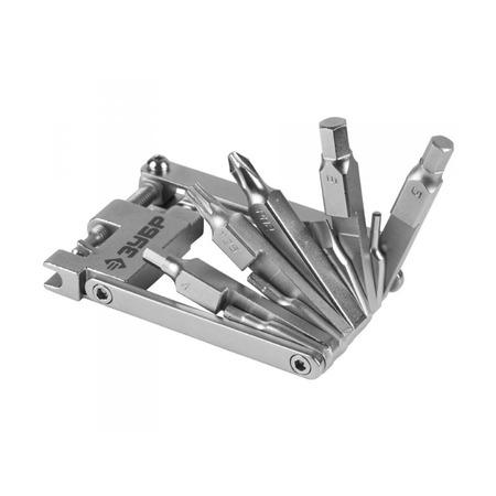 Купить Набор инструментов для обслуживания велосипеда Зубр «Эксперт» 27428-H16