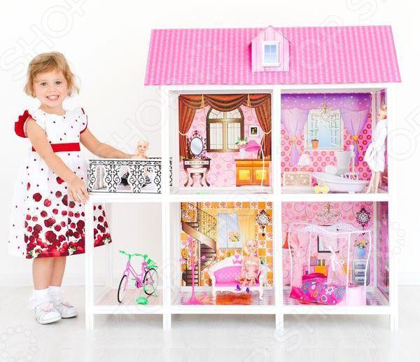 Кукольный дом с аксессуарами PAREMO PPCD116-02