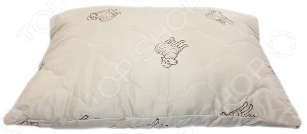 Подушка с овечьей шерстью «Природный дар». В ассортименте
