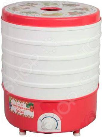 Сушилка для овощей и фруктов Помощница СШ-006 сушилка для овощей и фруктов ротор сш 007 06 сш 007