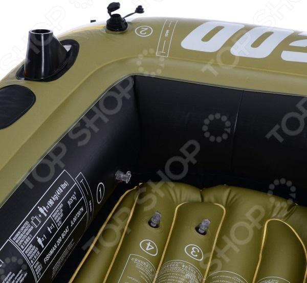 Лодка надувная Jilong Fishman 200 Set 2