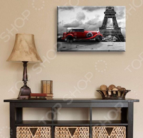 Картина ТамиТекс «Красная машина» картина тамитекс собор