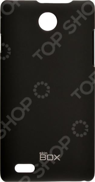 Чехол защитный skinBOX ZTE V815W promate akton s5 чехол накладка для samsung galaxy s5 black