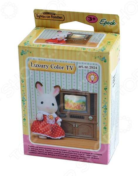 Набор игровой Sylvanian Families «Цветной телевизор» игровые наборы sylvanian families игровой набор цветной телевизор
