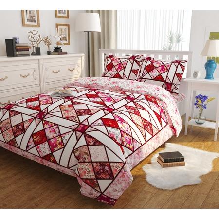 Купить Комплект постельного белья Сирень «Рубиновый витраж». Евро