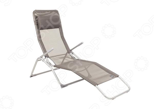 Шезлонг GoGarden Comfy XL для отдыха на природе под теплым солнцем, который сделает ваш отдых максимально комфортным и приятным. Хорошо продуманная конструкция и удобная спинка шезлонга следует изгибам тела, обеспечивая отличную поддержку спины и головы. Всего пару минут отдыха подарят чувство необыкновенного комфорта и расслабления. Преимущества:  Анатомическая конструкция.  Отличная поддержка спины и ног.  Мягкий съемный подголовник.  Широкое сиденье.  Подлокотник сталь с пластиковым наконечником.  Лямка для переноски.  Материал имеет хорошую пространственную стабилизацию.  Защита от УФО.  Быстро сохнет.  В сложенном состоянии не занимает много места. Этот шезлонг можно хранить на открытом воздухе в течение всего сезона, так как сиденье сделано из прочного сетчатого материала Текстилин устойчивого к ультрафиолетовому излучению и образованию плесени. Благодаря своей структуре материал не впитывает влагу, быстро сохнет и очень простой в уходе. Может регулироваться в нескольких положениях, легко складывается, а лямка сделает переноску более удобной. Поэтому хранение и транспортировка не доставят проблем.