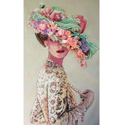 Канва для вышивания Dimensions «Викторианская элегантность»