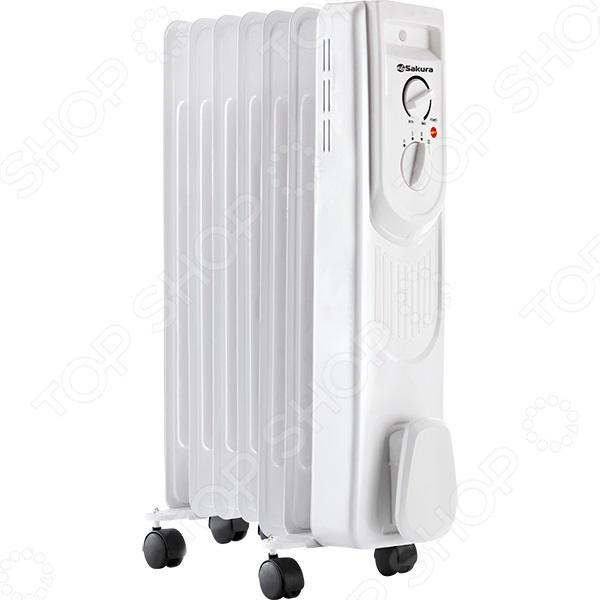 Радиатор масляный Sakura SA-0337B Радиатор масляный Sakura SA-0337W /Белый