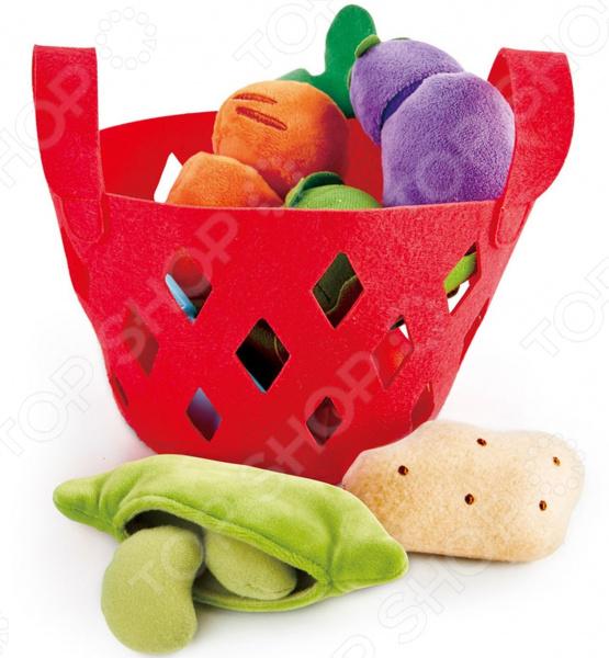 Игровой набор Hape «Овощная корзина»