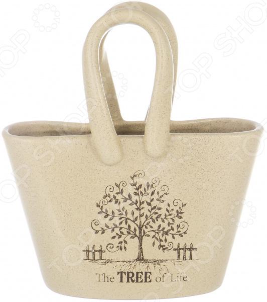 Подставка под столовые приборы Elrington «Корзинка» The Tree Of Life 3pcs tree of life coral fleece bathroom mat set