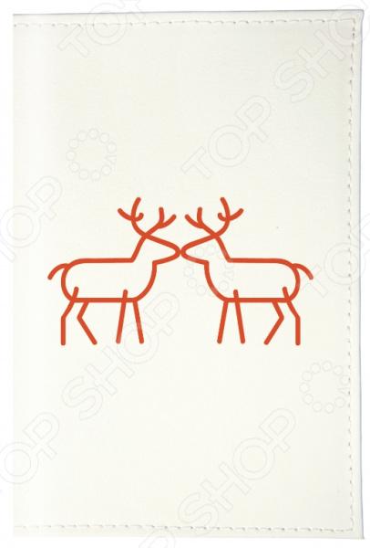 Обложка для автодокументов Mitya Veselkov «Сладкая парочка оленят» подвеска сладкая парочка для красной нити 02
