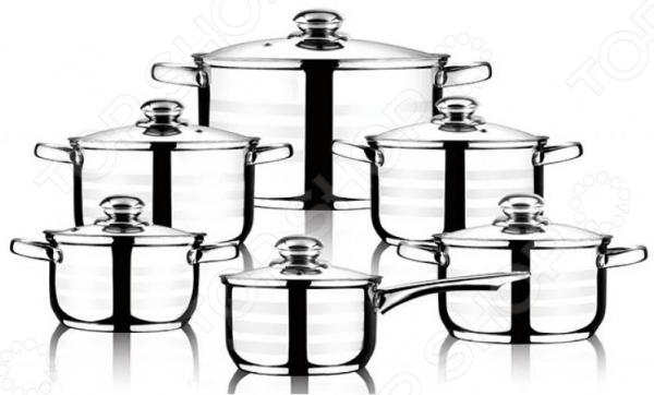 Набор посуды Wellberg WB-1318