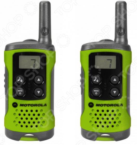 Комплект из двух раций Motorola TLKR-T41 радиостанция motorola tlkr t41
